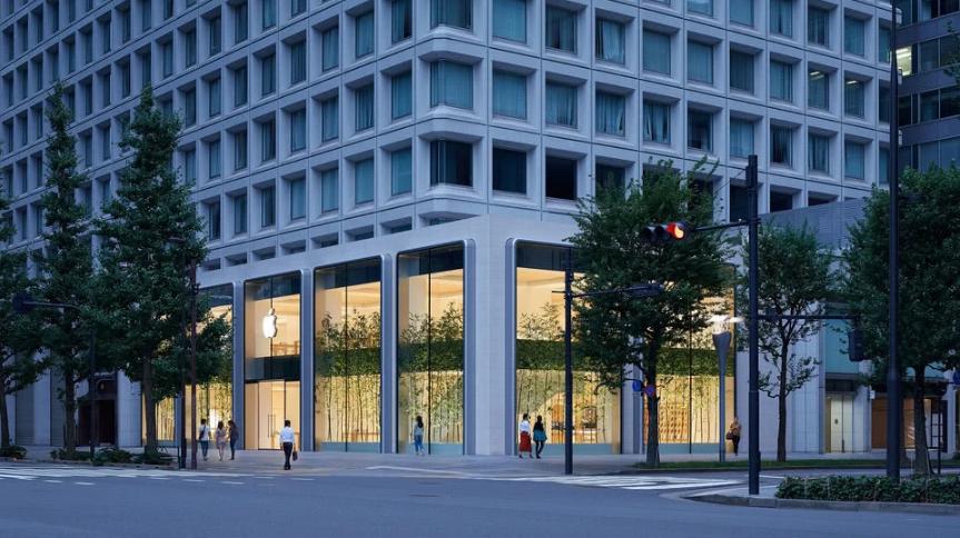 苹果宣布日本最大的Apple Store将在9月7日开幕
