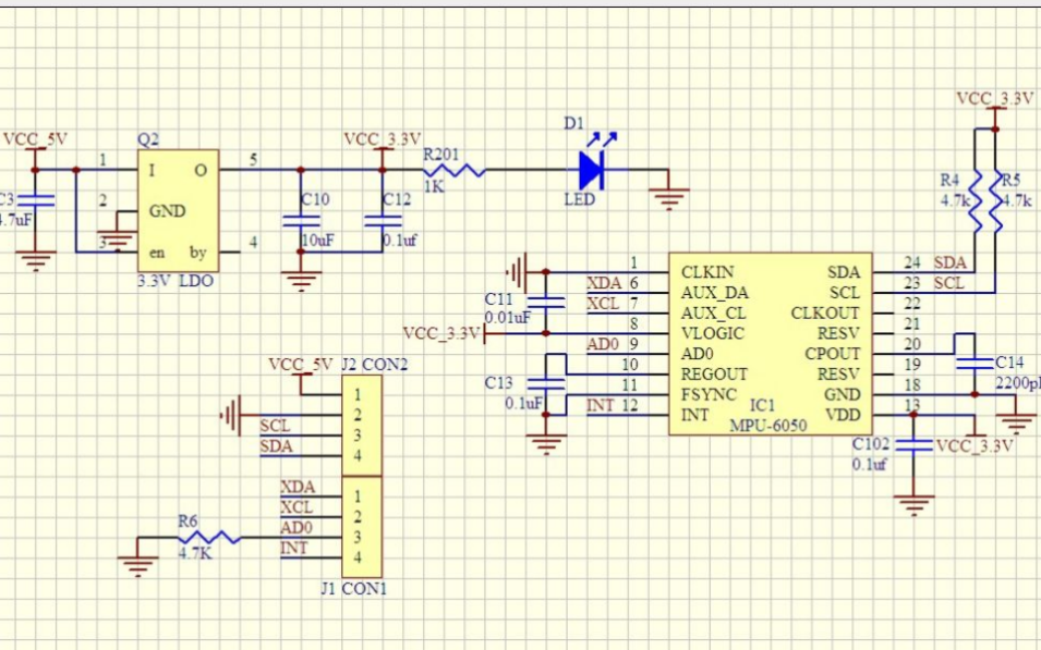 MPU6050三轴陀螺角速度传感器的计算角度程序免费下载