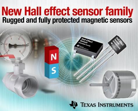 霍爾效應傳感器DRV5000系列的特性與優勢介紹