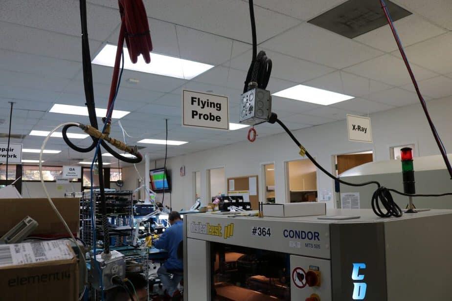 PCB组装怎样加入飞针测试