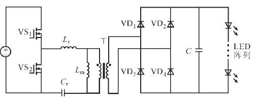 基于LLC半桥谐振的LED高效率恒流驱动电源设计