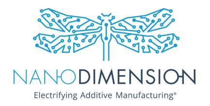 美国两家领先国防和安全机构购买了Nano Dimension系统用作电子产品的增材制造