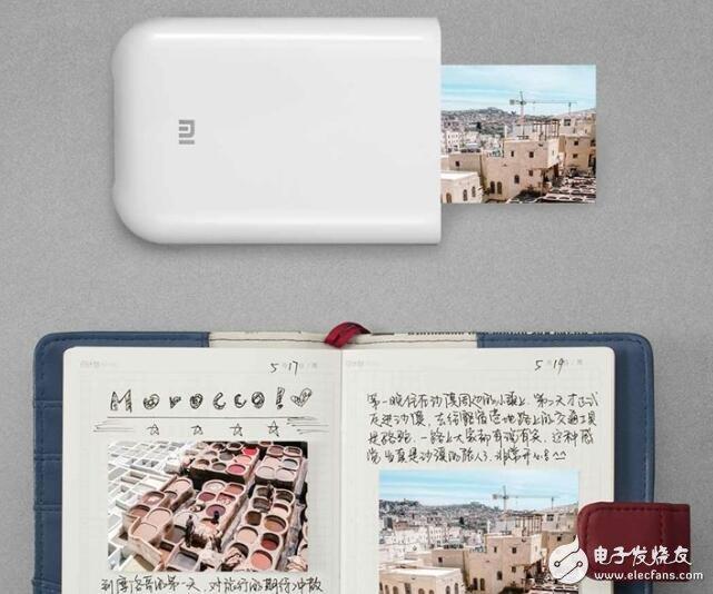 小米推出口袋款打印机,采用ZINK无墨打印技术