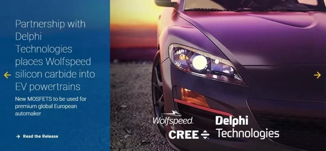 Cree and Delphi Technology Collaborate on Automotive SiC Devices