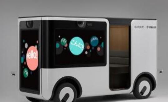 索尼与雅马哈联和制造台无人智能显示屏小巴