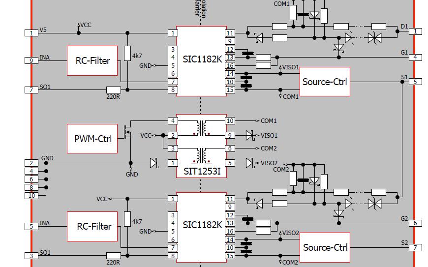 SIC1182K通用基板的电路设计资料免费下载