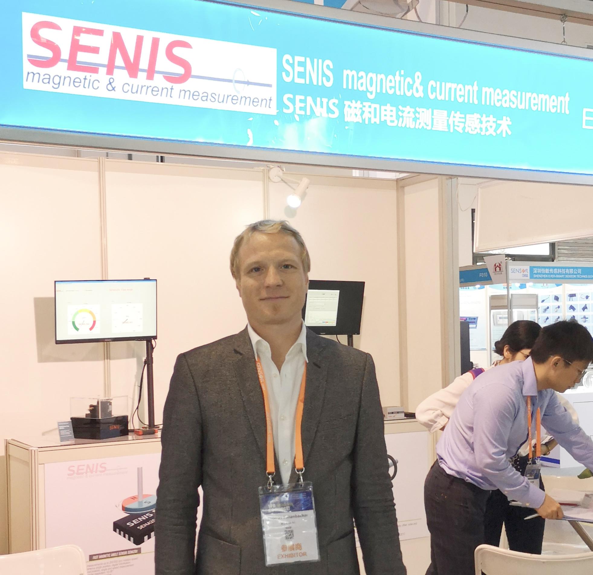 Kaltenbancher表示,Senis的战略是跟中国的企业加强合作。