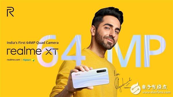realmeXT宣布将于9月13日发布 搭载6400像素摄像头