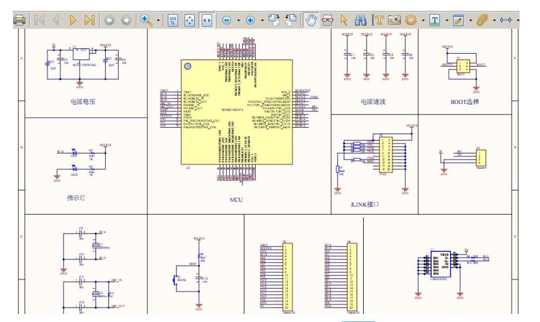 STM32F103C8T6最小系统的PCB原理图免费下载