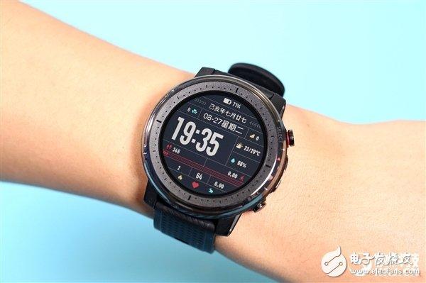 华米Amazfit智能运动手表3正式首卖 搭载双芯双系统