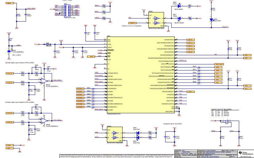 12v48v双向dcdc控制器的电路原理图免费下载