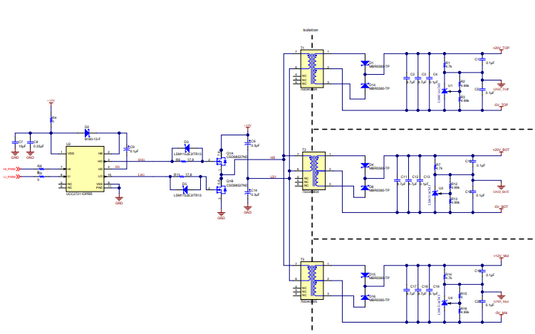 TIDA-01606 10KW三相光伏并网逆变器的电路原理图免费下载