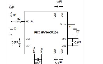 PIC24FV16KM204系列通用16位闪存单片机数据手册
