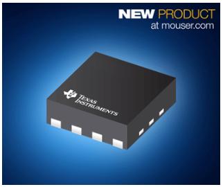 贸泽开售Texas Instruments OPA855 8-GHz运算放大器
