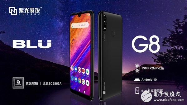 美國智能手機廠商BLU新機采用國產虎賁處理器 并率先支持新一代安卓10