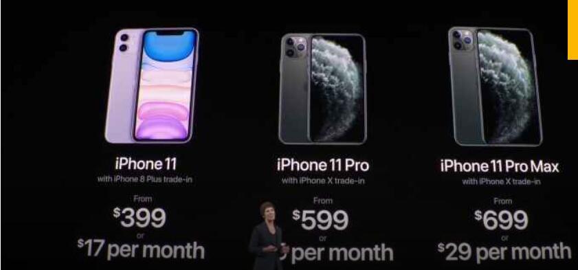 一文汇总苹果最新发布会精彩瞬间iPhone11和iPhonewatch好戏连台