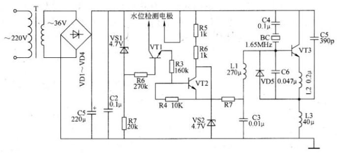 超聲波霧化器的工作原理及故障維修案例