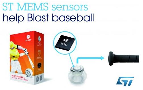 Blast Motion的高精度运动传感器产品Blast Baseball介绍