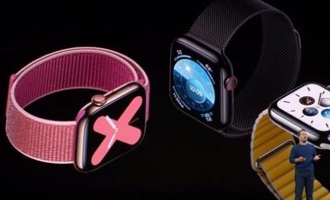 苹果亮相的apple watch贴近生活在其中加入心率监测功能