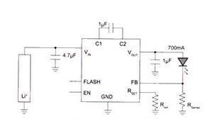 智能手机LED闪光灯驱动电路的设计