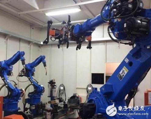 心零部件才是工业机器人运作的关键