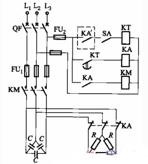 低壓無功補償控制電路圖