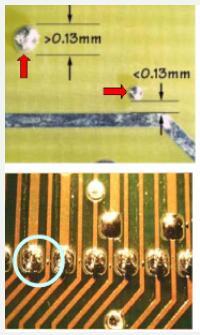 波峰焊后有锡珠的成因_波峰焊接后锡珠的防止措施