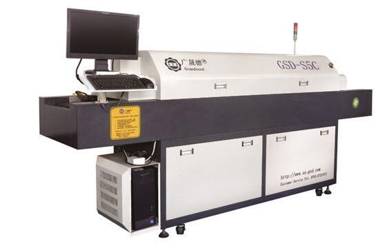 小型回流焊机开关机操作流程