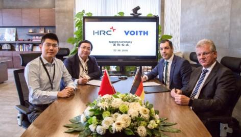 签署战略合作备忘录的HRC与Voit合作为开发...