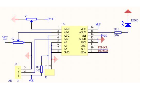 51单片机IIC通信在ADDA转换芯片PCF8591中的应用详细资料说明