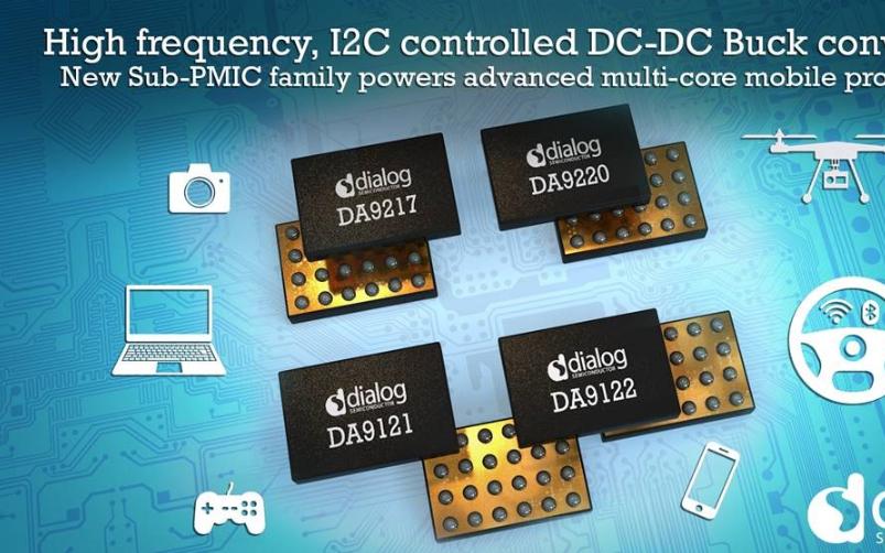 Dialog推出針對最新移動處理器的可配置、高頻...