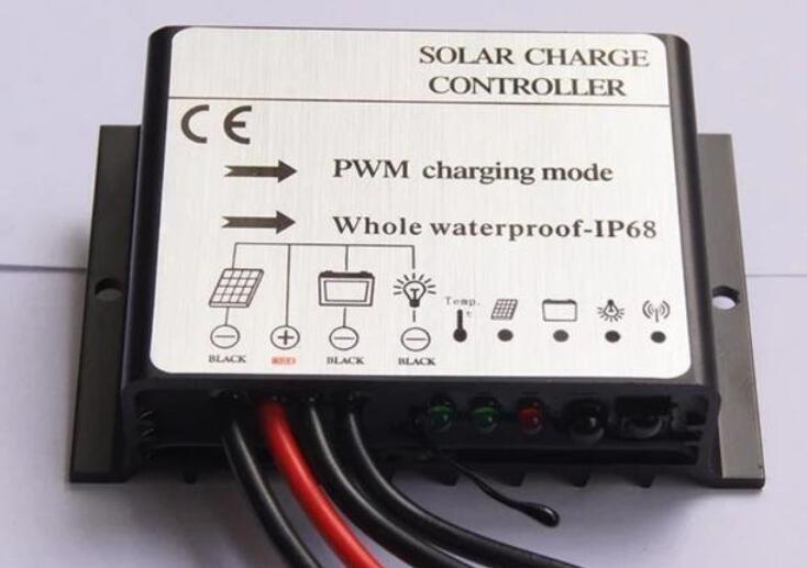 四线制的太阳能路灯控制器接线方法
