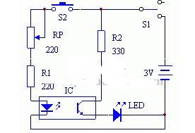 光电耦合器测试电路图讲解