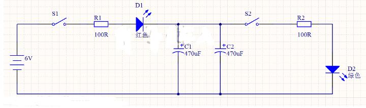 电容的充电与放电电路分析