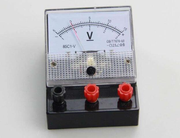 电压表和电流表选配原则和注意事项