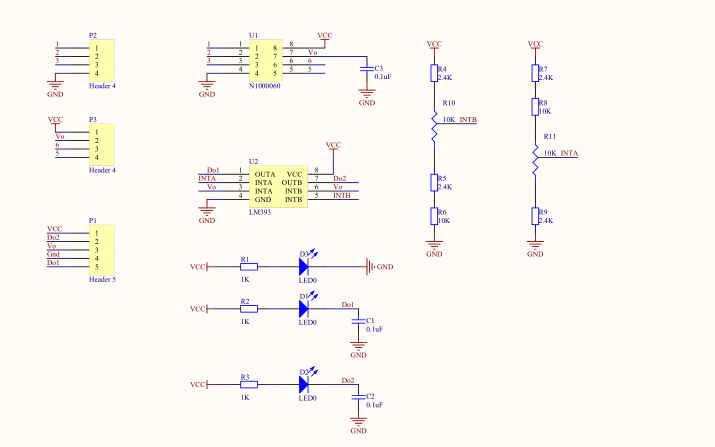YL90角度传感器模块使用说明和倾斜模块原理图与使用程序免费下载
