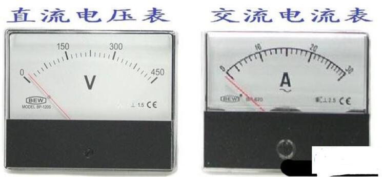 电压表和电流表的区分