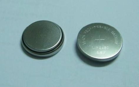 LIR1240 3.6V扣式锂离子电池的数据手册免费下载