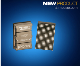 貿澤推出Analog Devices Power by Linear LTM4700 μModule穩壓器