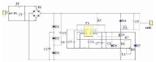 基于一款PWM控制型的高效恒流型LED驱动IC设计