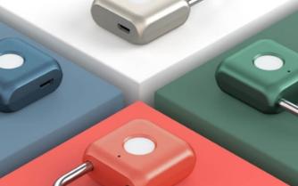 小米有品最新上架可以指纹识别的挂锁