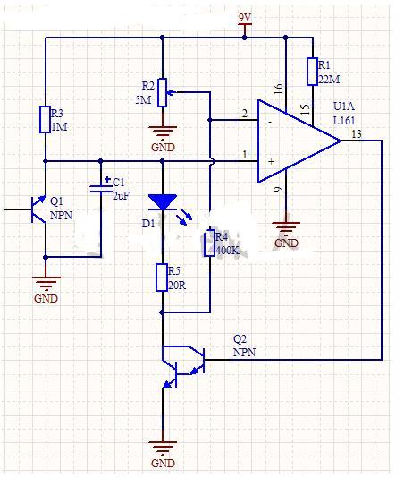 电池低压指示器电路的工作过程