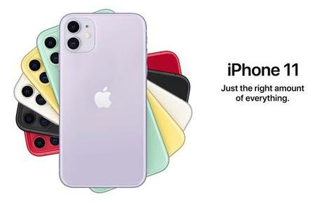 苹果iPhone 11和iPhone 11 Pr...