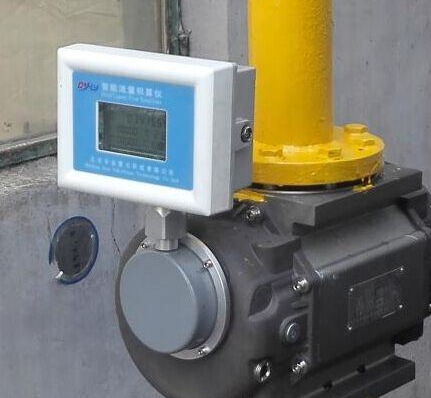 煤气流量计的安装说明