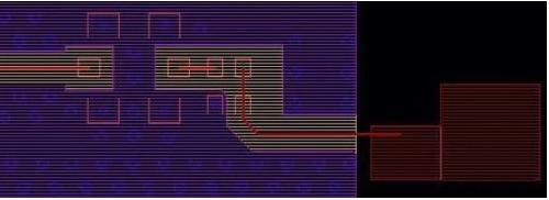 PCB表层铺地前和铺地后的对比分析