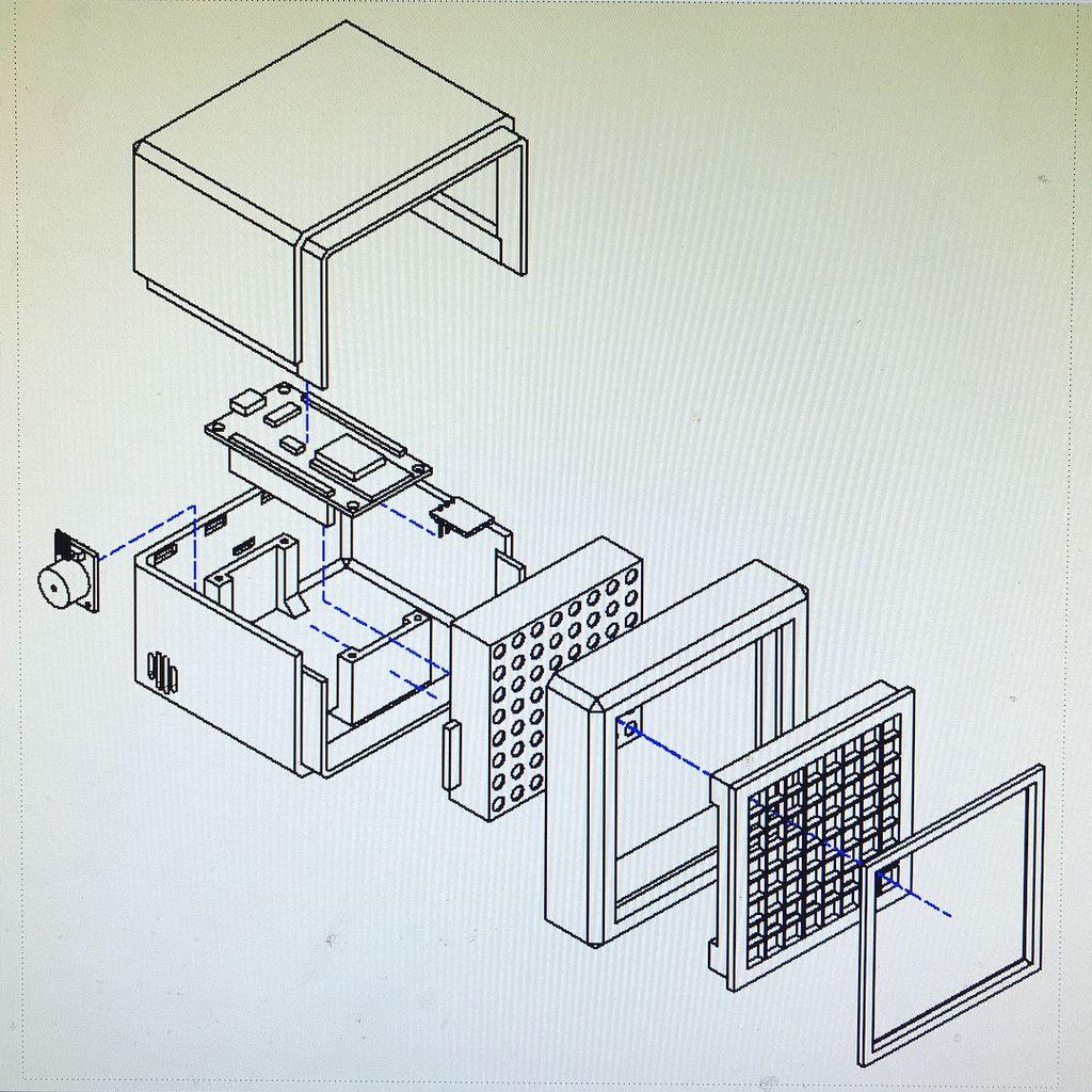RGB盒时钟DIY图解