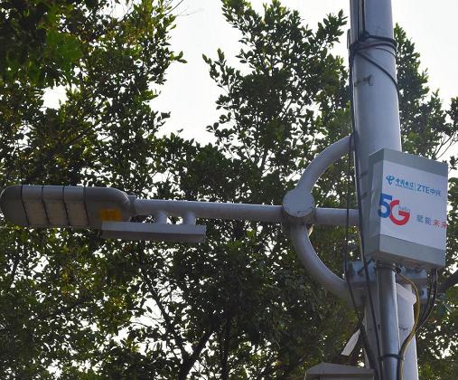 广东电信成功开通了全国首个5G PAD小微站