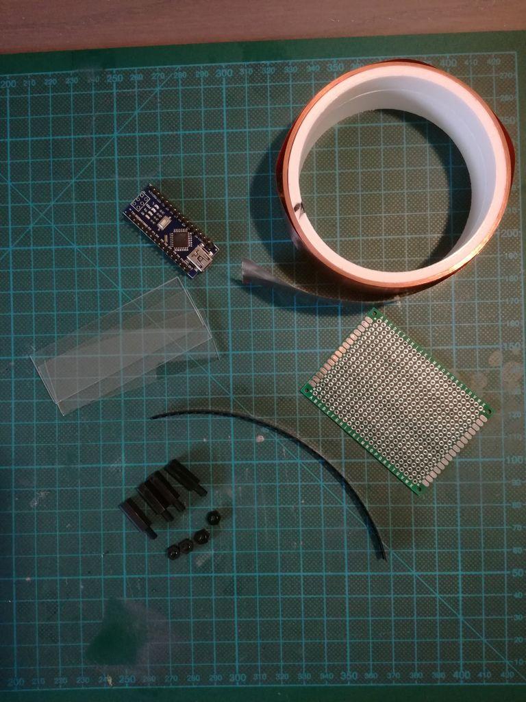 玻璃PCB LED立方体的制作图解