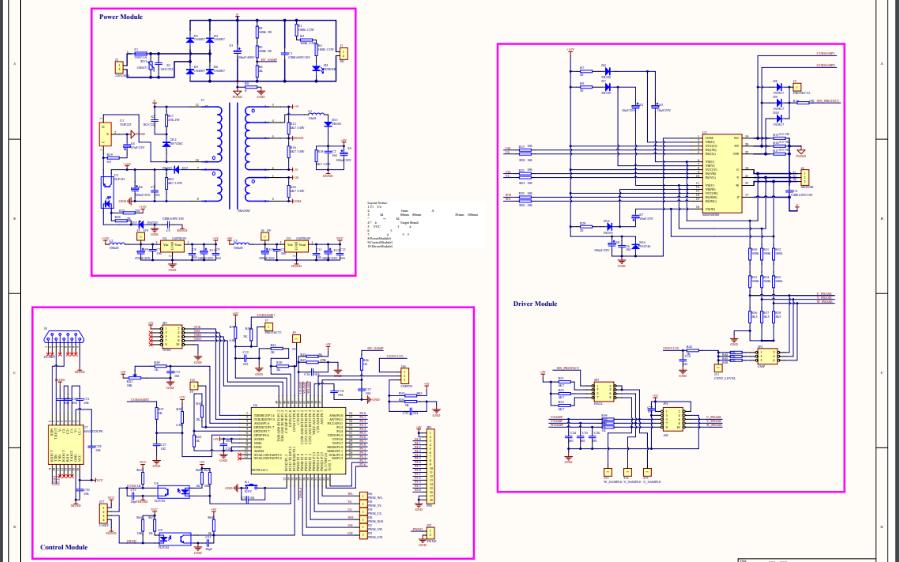 SH79F1611电动车控制器电路原理图免费下载