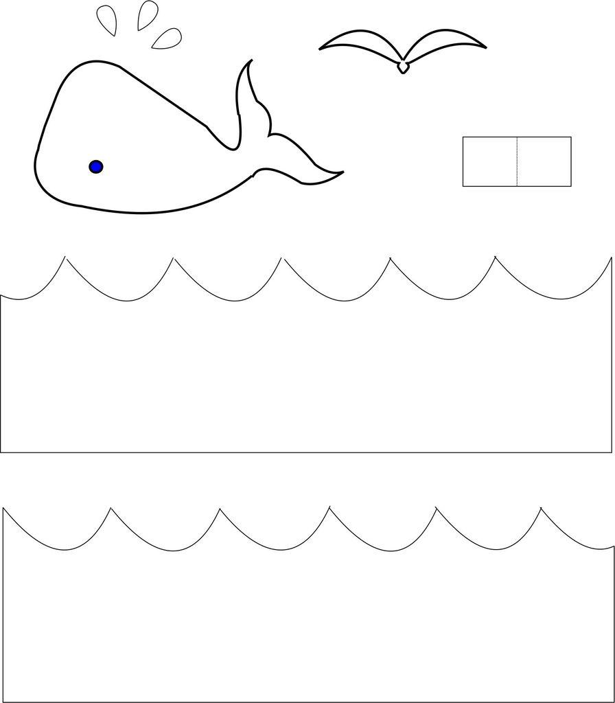 海鸥剪纸图片